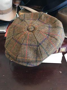 Christys of London Hat 7 1 4 L plaid tweed 8 panel peaky blinders cap 2391b366b0c7