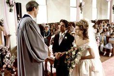 Shelby Eatenton and Jackson Latcherie, 1989 Steel Magnolias Movie Wedding Dresses, Wedding Movies, Wedding Things, Wedding Gowns, Wedding Blog, Wedding Styles, Dream Wedding, Wedding Ideas, Julia Roberts Movies