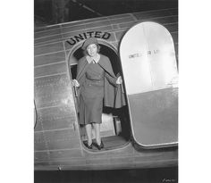 "Ellen Church, a young aviation enthusiast, was determined to fly at a time when airlines did not hire ""lady pilots."" In 1930, when Boeing introduced lightning-fast, coast-to-coast service (that took a mere 28 hours), Church pitched the idea of female nurse attendants; she was hired as the first stewardess."