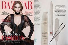 Die deutsche Harper's Bazaar empfielt in ihrem Beauty-Special die sanfteGlasnagelfeilevon Rubis Switzerland.