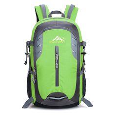 Fashion Men's 35L Backpack Travel Bags Multifunction Color Backpack Camp Climb Bag Rucksack Trekking Bag