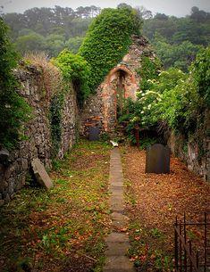 St. Aidan's Old Church Ruin, Magilligan, Northern Ireland