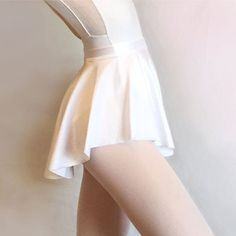 Ballet Skirt- White SAB skirt- Dance Wear- White Lycra/ Spandex- Royall Dancewear- Pull-on Skating- Lyrical costume - Summer Intensive Ballet Wear, Lyrical Costumes, Pullover Shirt, Ballet Clothes, Lycra Spandex, White Spandex, Spandex Fabric, Dance Outfits, Ballet Outfits