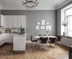 A bit of kitchen inspiration. via @alvhem #scandinavian #interior #homedecor #simplicity #whiteliving