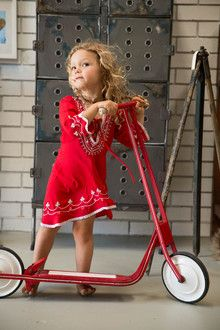 Red obsessed. #estella #kids #fashion We❤️it! @dimitybourke.com kidsfashion