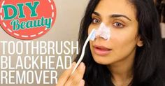 This Woman Took Her Toothbrush And Scrubbed Her Nose Until This Result Came Out (VIDEO)  HealthyTipsAdvice http://ift.tt/2kYaAHO