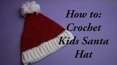 Crochet Tutorial - Santa hat