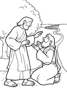 1000 images about 10 lepers on pinterest jesus heals for Jesus heals ten lepers coloring page
