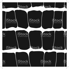 Reptile skin seamless pattern black spots on a white background. royalty-free stock vector art