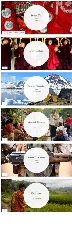 Lets Travel Somewhere - 6 rectangles stacked for your web design enjoyment