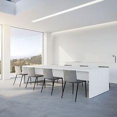 Frank Sinnaeve y Stephan Gunst diseñaron para Flos este sistema de iluminación integrada con el que se consigue la fusión entre luz, arquitectura y diseño