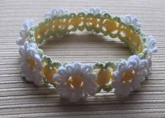 White and Yellow ... by KnittinKitty | Crocheting Pattern - Looking for your next project? You're going to love White and Yellow Daisies  Headband by designer KnittinKitty. - via @Craftsy