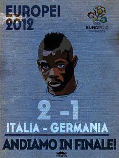 Italia - germania europei 2012 mario balottelli