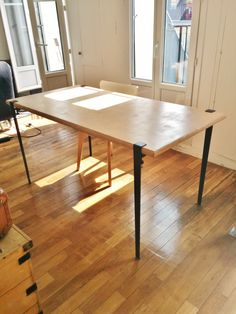 Table Diy, Dining Table, Decoration, Small Spaces, New Homes, Furniture, Design, Home Decor, Tatuajes