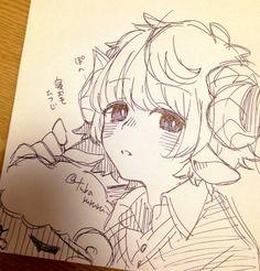 Anime Drawings Sketches, Anime Sketch, Cute Drawings, Art Anime, Manga Art, Cartoon Art Styles, Cute Art Styles, Arte Sketchbook, Art Reference Poses