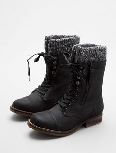 combat boots..comfi and bold .. is a MUST this winter.