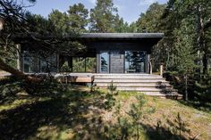 Completed in 2015 in Finland. Images by Samuli Miettinen             . This unique rocky Island on the Baltic Sea belongs to the family living in Helsinki.   The Island is 5,5 hectares and located in outer sea with huge...
