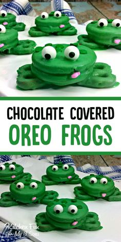 Frog Oreos | Fun Kid