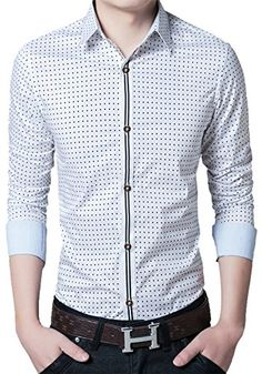 Long Sleeve Shirt Dress, Dress Shirt, Casual Shirts For Men, Men Casual, Man Shirt, Casual Outfits, Fashion Outfits, Cotton Shirts, Man Fashion