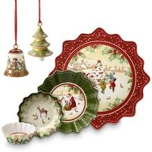 Villeroy & Boch Toy's Fantasy - Fun holiday dinnerware that showcases the fun and spirit of the holiday season. http://www.dinnerwaredepot.com/shop/catalog/handler~event~familySelected~pf_id~6017.htm