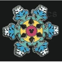 Pin 85638 DLR - 2011 Hidden Mickey Series - Disneyland Icons Collection - Snowflake
