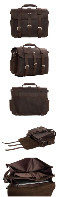 Leather Travel Bag Leather Briefcase Leather Backpack