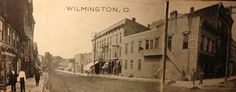 """Looking down South South Street. The block to the left (where the court house now stands) was referred to as """"Shadagee"""""""