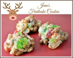 "Don't let the word, ""fruitcake"" turn you off -- these are supposed to be divine!!"