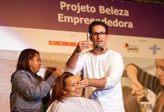 """Os empreendedores voltados ao setor de salão de beleza da cidade de Taboão da Serra (SP) ganharam dois projetos de suma importância para alavancarem seus negócios. """"MATRIX – Imagine Tudo o que Você Pode Ser"""", é resultado da parceria entre o Sebrae-SP, L'Oréal e a Secretaria de Desenvolvimento Econômico, Trabalho e Renda da Prefeitura de Taboão da Serra."""