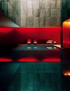 The Opposite House hotel, Beijing's temple of serene chic, was designed by Kengo Kuma and includes this 72-foot-long stainless-steel-lined pool.