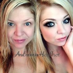 b4 and after Younique