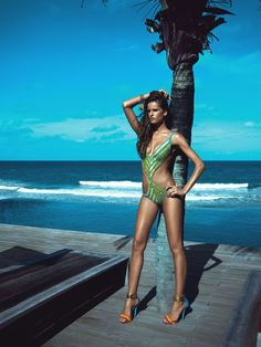 f3e872ee2a7 Cia Maritima 2013 Collection - Izabel Goulart Campaign Izabel Goulart,  Beach Bunny, Painted Bikini