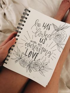 """A English language expression """"Psalm"""" or perhaps """"Psalms"""" gets a root on the Ancient term Bible Verse Calligraphy, Bible Verse Art, Bible Verses Quotes, Jesus Quotes, Scripture Lettering, Bibel Journal, Bible Doodling, Bible Notes, Hand Lettering Quotes"""