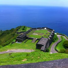Brimstone Hill Fortress, UNESCO World Heritage Site in St Kitts