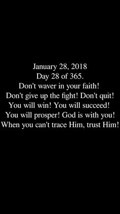 Yes I will!! My Lord has me and has gone before me. I have won this battle!!