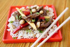 """Stir-Fry Contest Winner - """"Szechwan Mango Pepper Steak"""""""