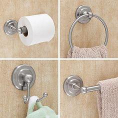 Begonia 4 Piece Bathroom Accessory Set