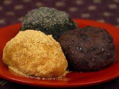 Botamochi (Ohagi) ぼたもち(おはぎ)作り方レシピ