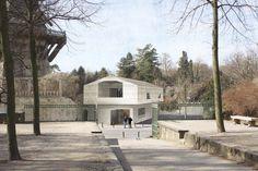 2. Preis: Ansicht von Schlossterrasse