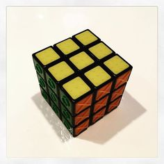 Cool new touch Rubiks cube for the visually impaired. #accessibility @rubiks_official