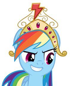 Rainbow Dash Pinkie Pie Twilight Sparkle Applejack Pony - My little pony Mlp My Little Pony, My Little Pony Friendship, Rainbow Fan, Mlp Pony, Twilight Sparkle, Drawings, Pinkie Pie, Crown, Rainbows