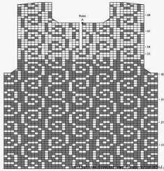 Beautiful sirloin pullover !!!. Discussion on LiveInternet - Russian Online Diary Service Crochet Diagram, Crochet Chart, Filet Crochet, Crochet Motif, Crochet Flowers, Crochet Lace, Crochet Stitches, Knitting Patterns, Crochet Patterns