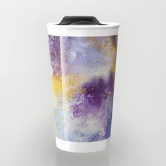 colorful modern abstract mixed media painting 3 Travel Mug by dorotahenk Vienna Austria, Mixed Media Painting, Instagram Accounts, Package Design, Travel Mug, Polish, Mugs, Abstract, Modern