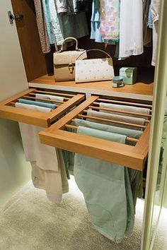 Walk In Wardrobe – Walk In Wardrobe Designs – Neville Johnson // Closet Organization, Home Decoration Ideas