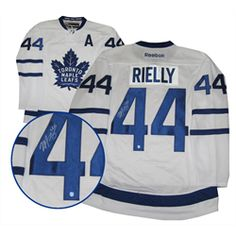 Rielly,M Signed Jersey Replica Leafs White 2016