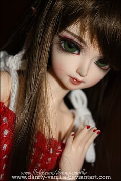 Red...doll