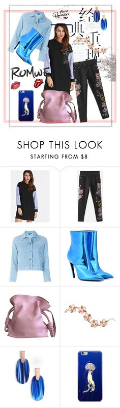 """""""Please, remember me"""" by anelia-georgieva ❤ liked on Polyvore featuring M.i.h Jeans, Balenciaga, Loewe, Avon and Kendra Scott"""