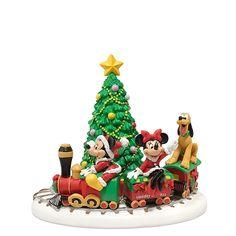 D56 2011, Disney Village, Mickey's Holiday Express