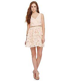 GB Flower Petal Dress #Dillards $149
