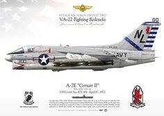 IK-97-04 LTV A-7E Corsair II